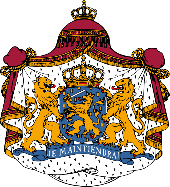 Coat of arms of the Netherlands svg