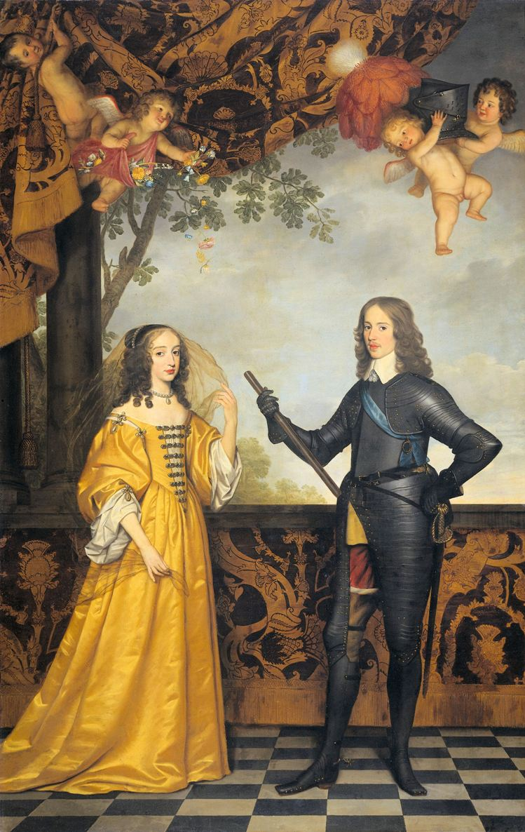 Willem II prince of Orange and Maria Stuart