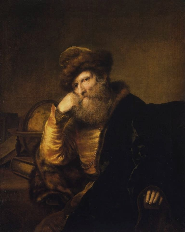 Bol-Portrait-of-a-Scholar-Sitting-at-Table