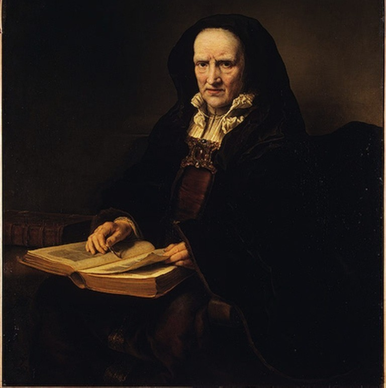 Bol-Portrait-of-an-Old-Woman-with-Book
