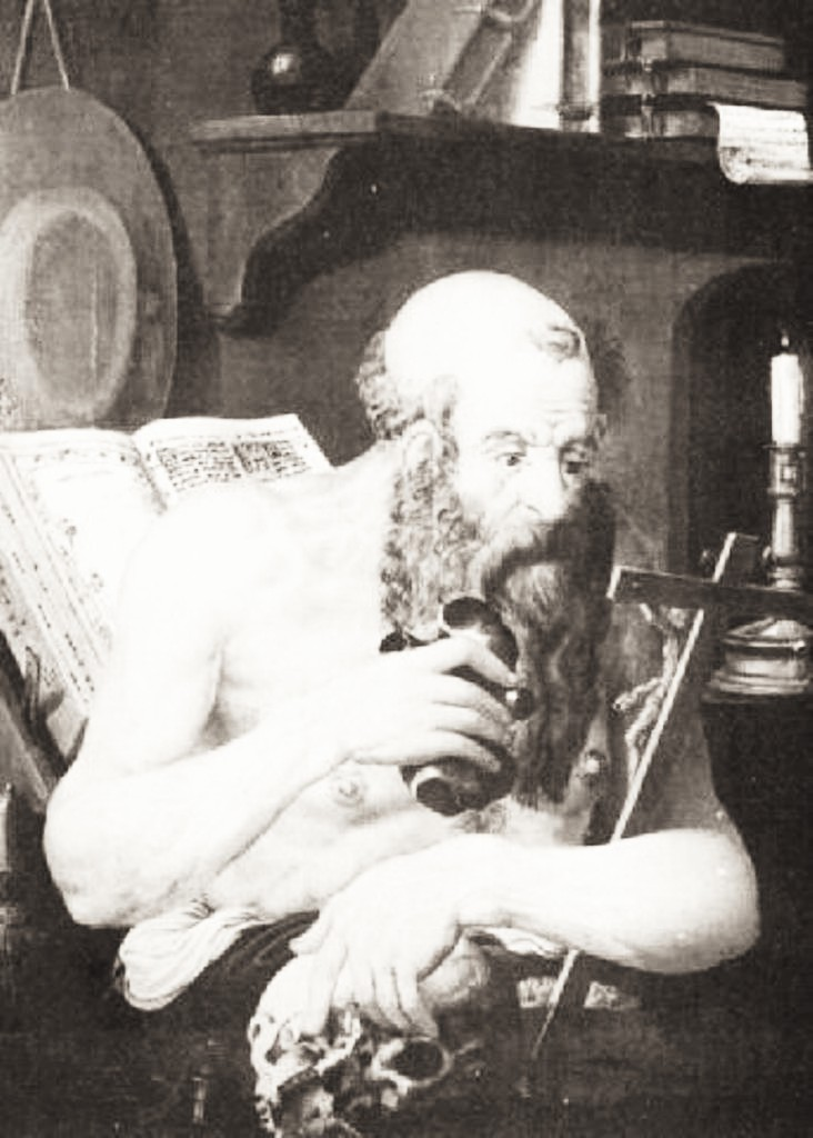 Bornwater-St-Jerome-in-his-study