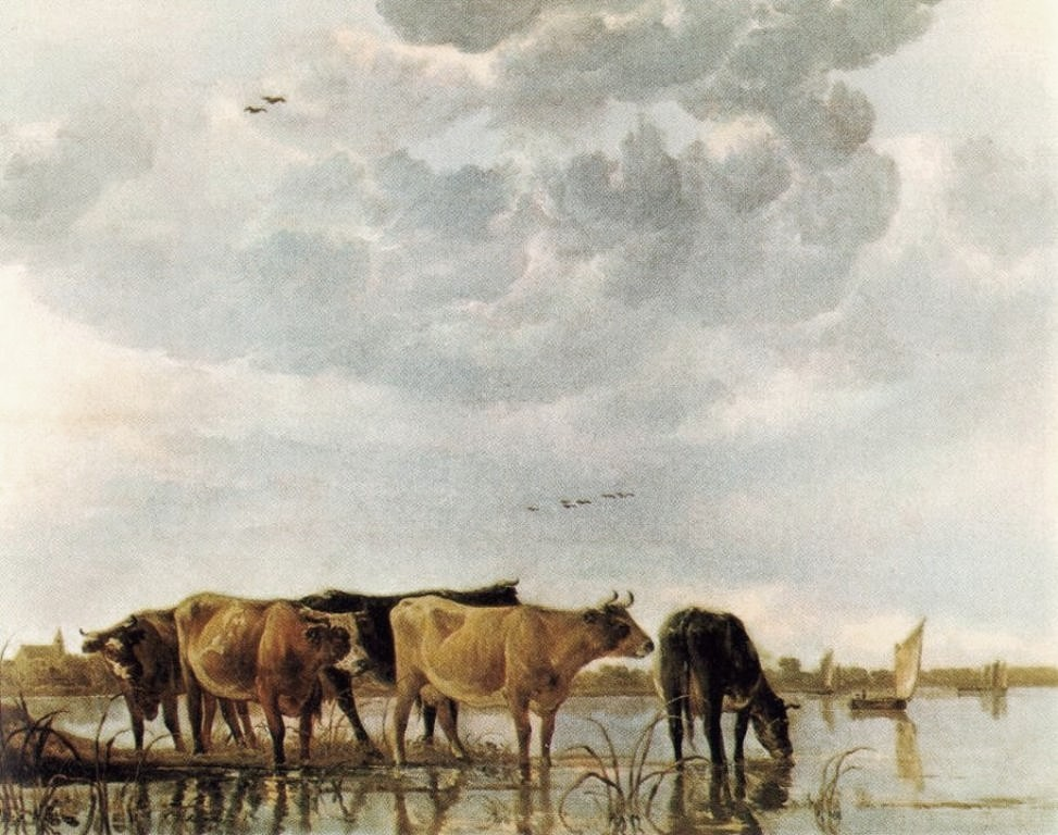 Cuyp-Albert-Cows-in-Water