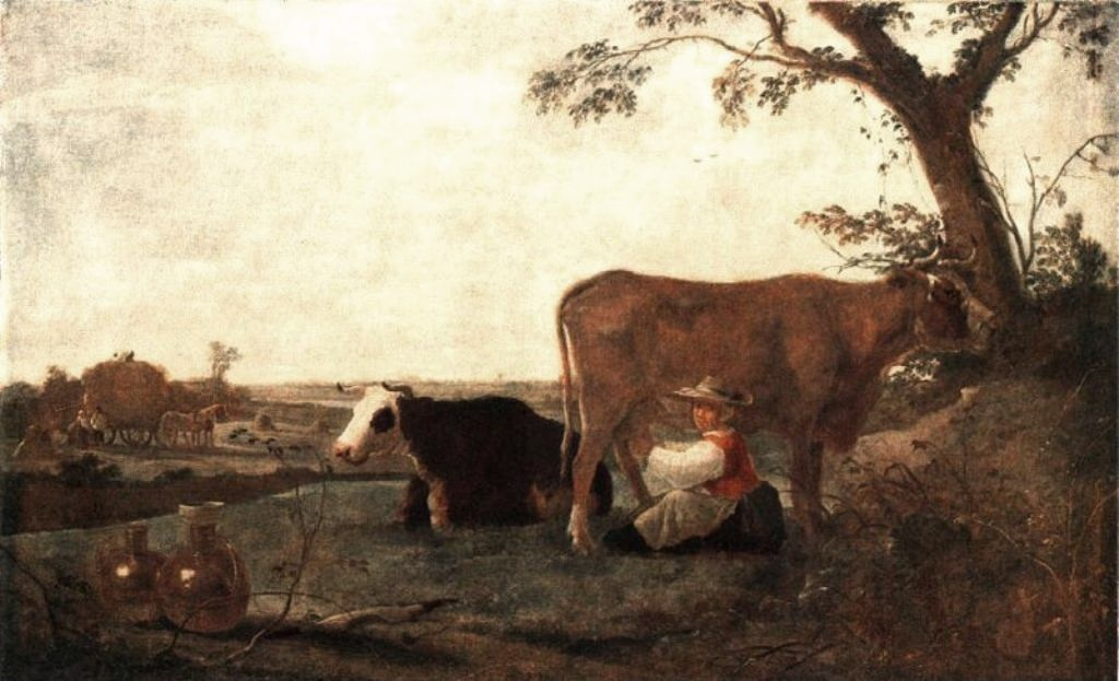 Cuyp-Albert-Dairy-Maid