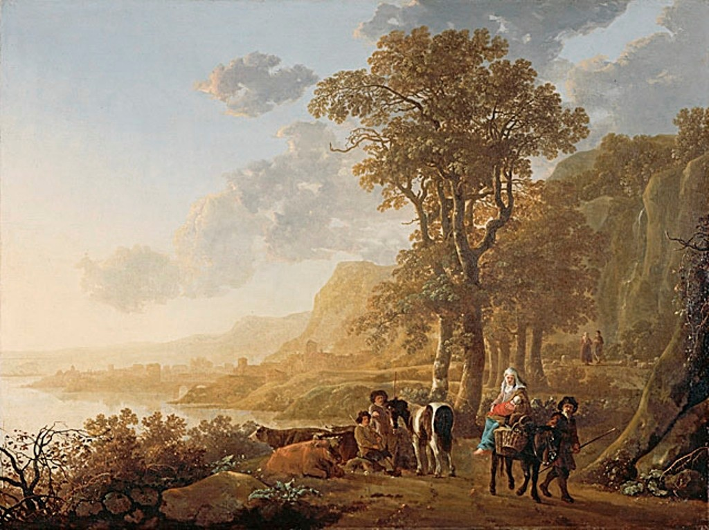 Cuyp-Albert-Flight-into-Egypt