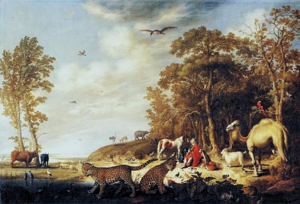 Cuyp-Albert-Orpheus-with-Animals-in-Landscape