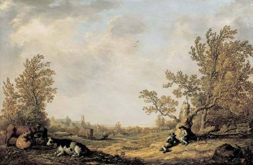 Cuyp-Albert-Pasture-with-cows-and-shepherds