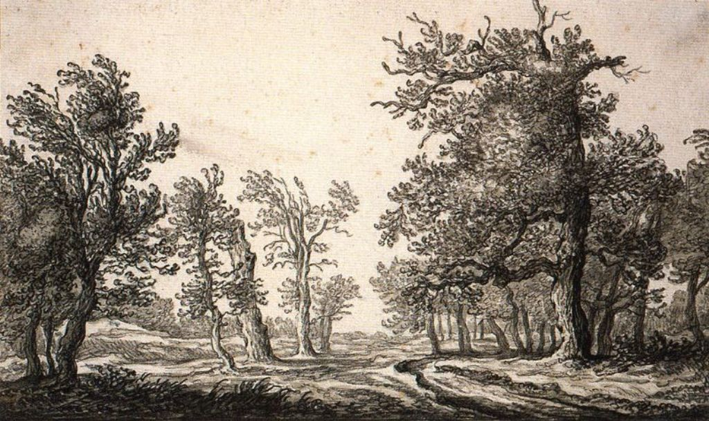 Cuyp-Albert-Path-between-Trees