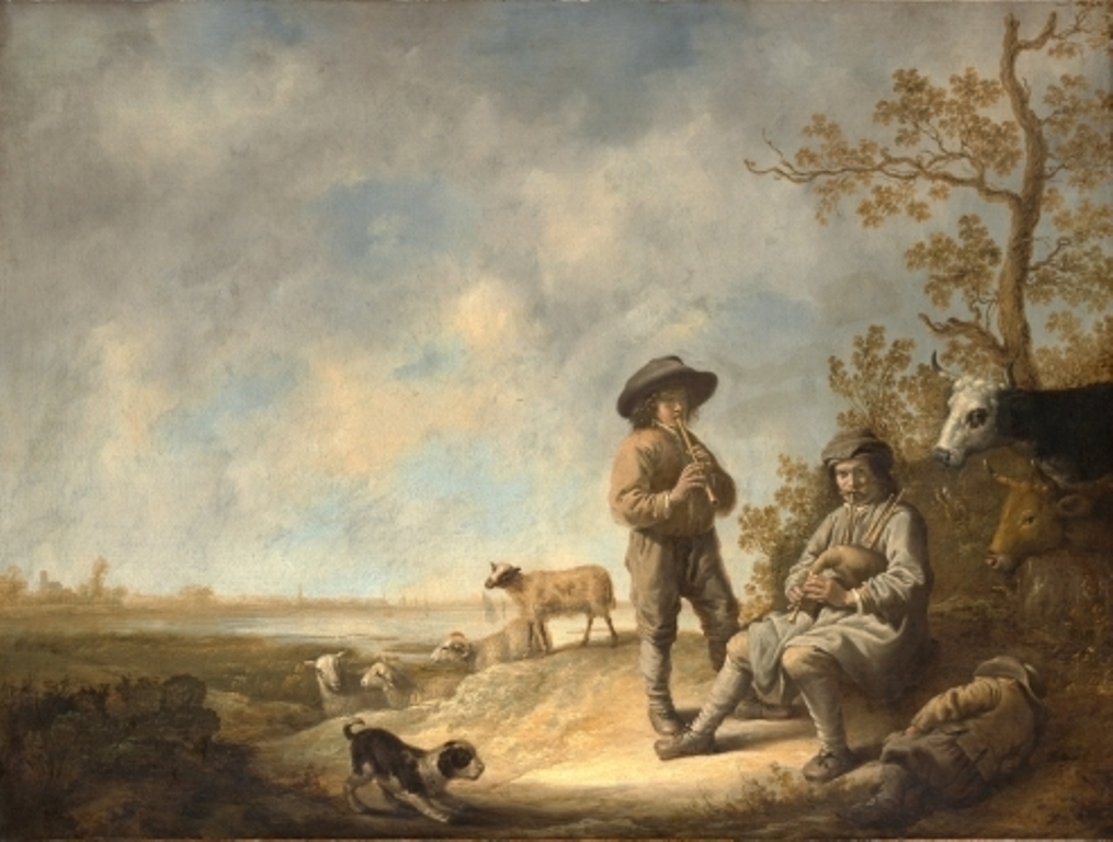 Cuyp-Albert-Piping-shepherds