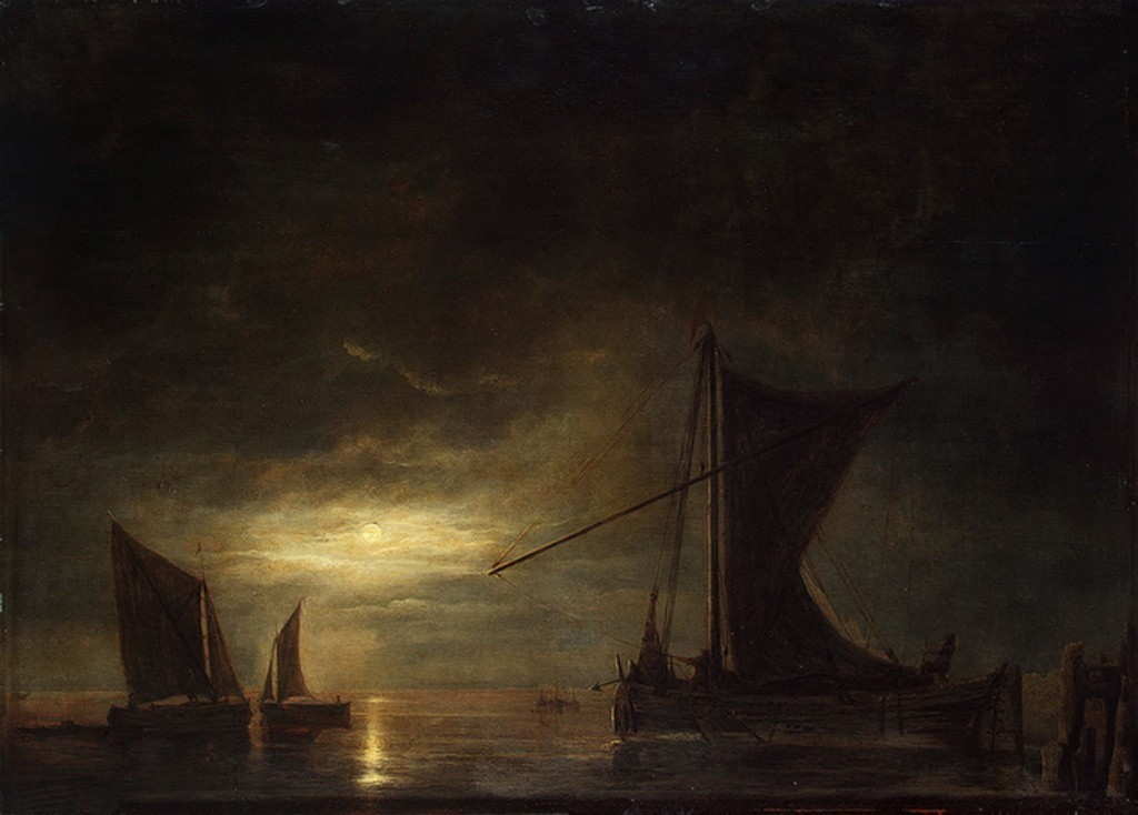 Cuyp-Albert-Sea-by-Moonlight