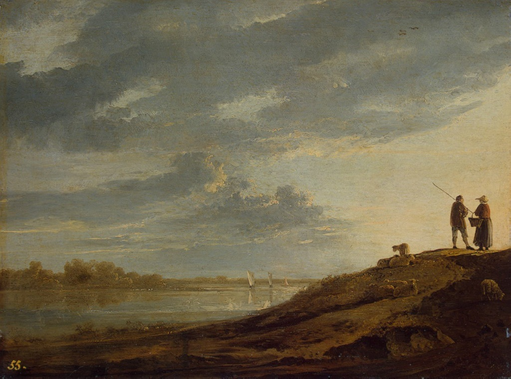 Cuyp-Albert-Sunset-over-River