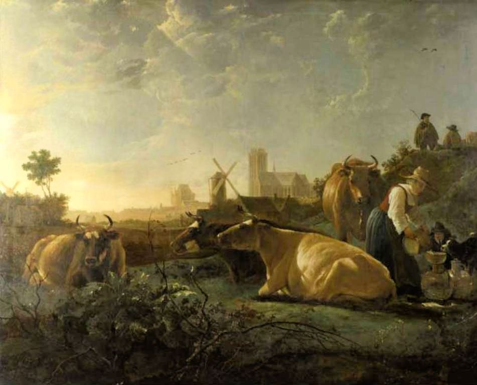 Cuyp-Albert-The-large-Dort