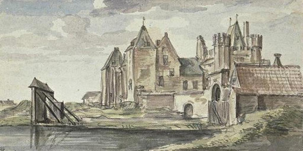 Cuyp-Albert-View-of-Castle-Purmerend