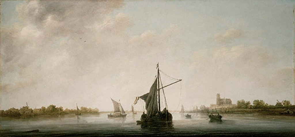 Cuyp-Albert-View-of-the-Maas-at-Dordrecht
