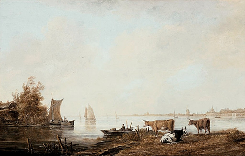 Cuyp-Albert-View-of-the-Maas-near-Dordrecht