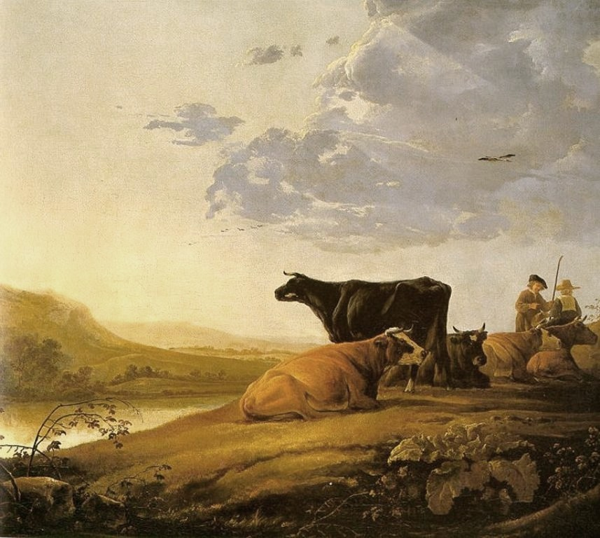 Cuyp-Albert-Young-Herdsman-with-Cows