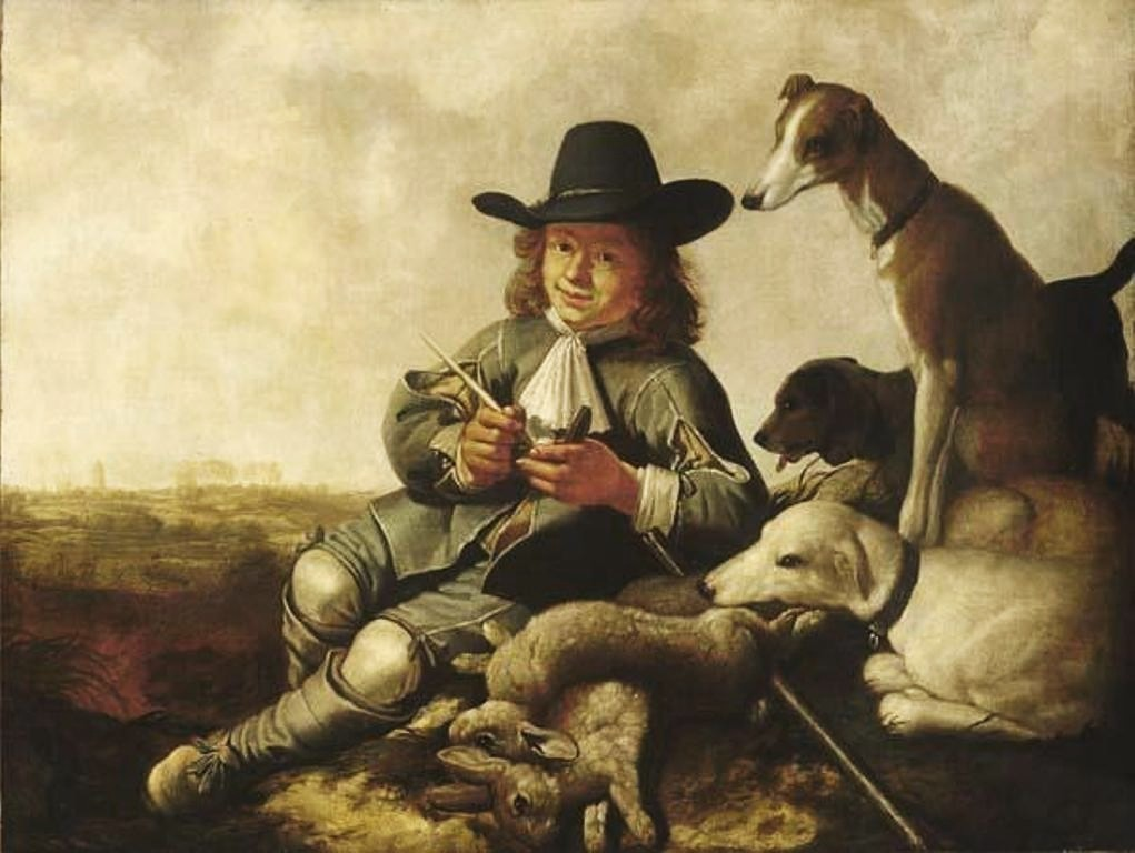 Cuyp-Albert-Young-Sportsman