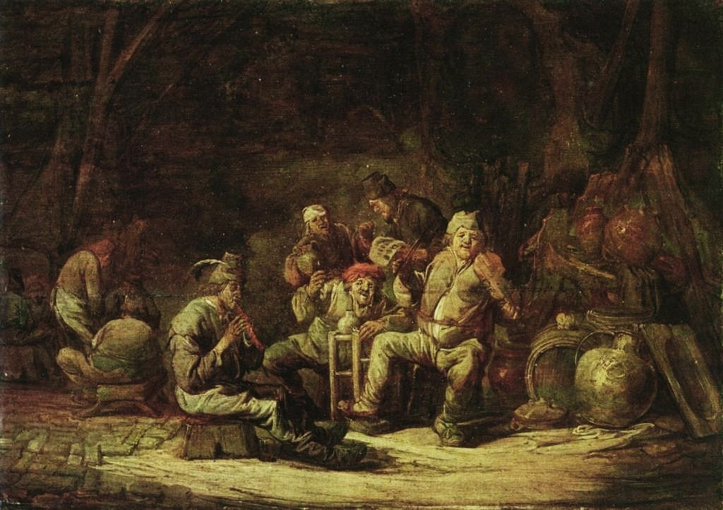 Cuyp-Benjamin-Peasants-at-the-inn
