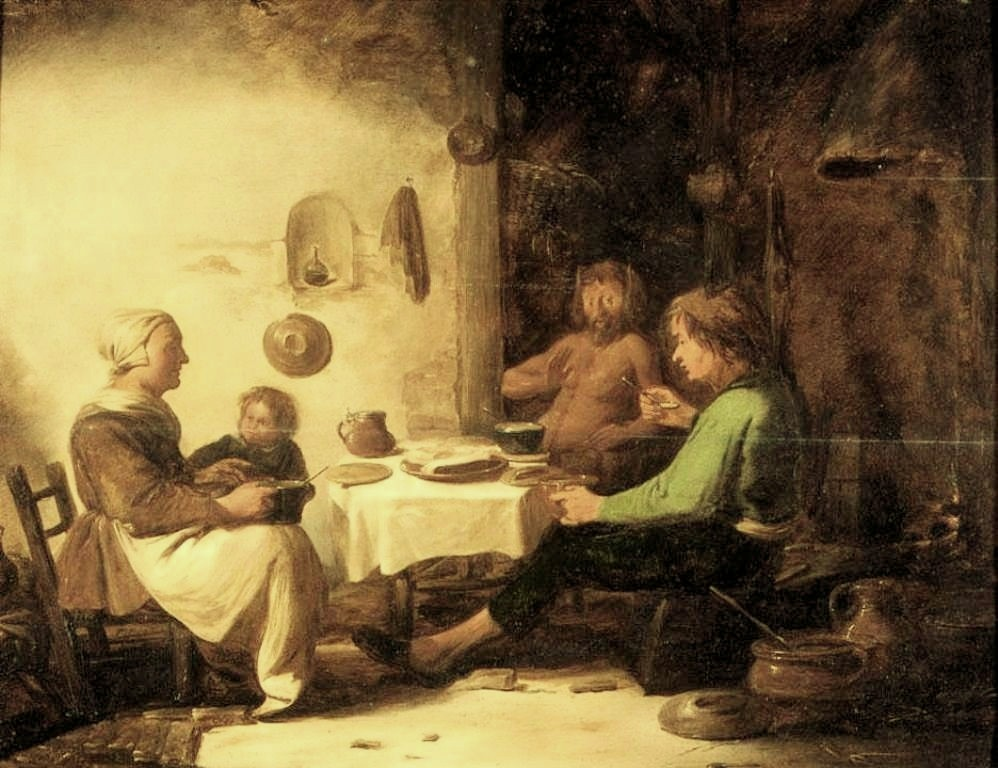 Cuyp-Benjamin-Satyr-and-Peasant-Family