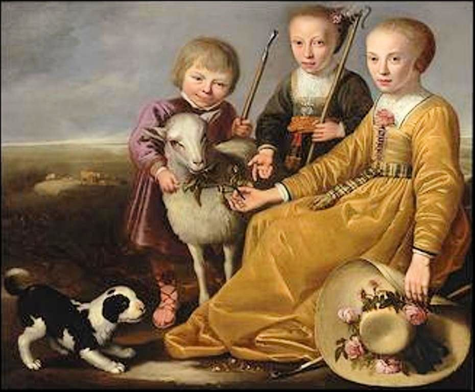Cuyp-Jacob-Three-children-in-landscape