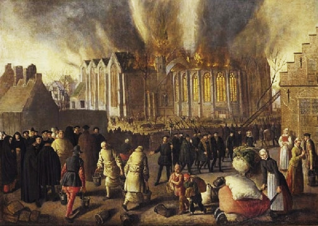 Doudijn-The-new-church-on-fire-1568