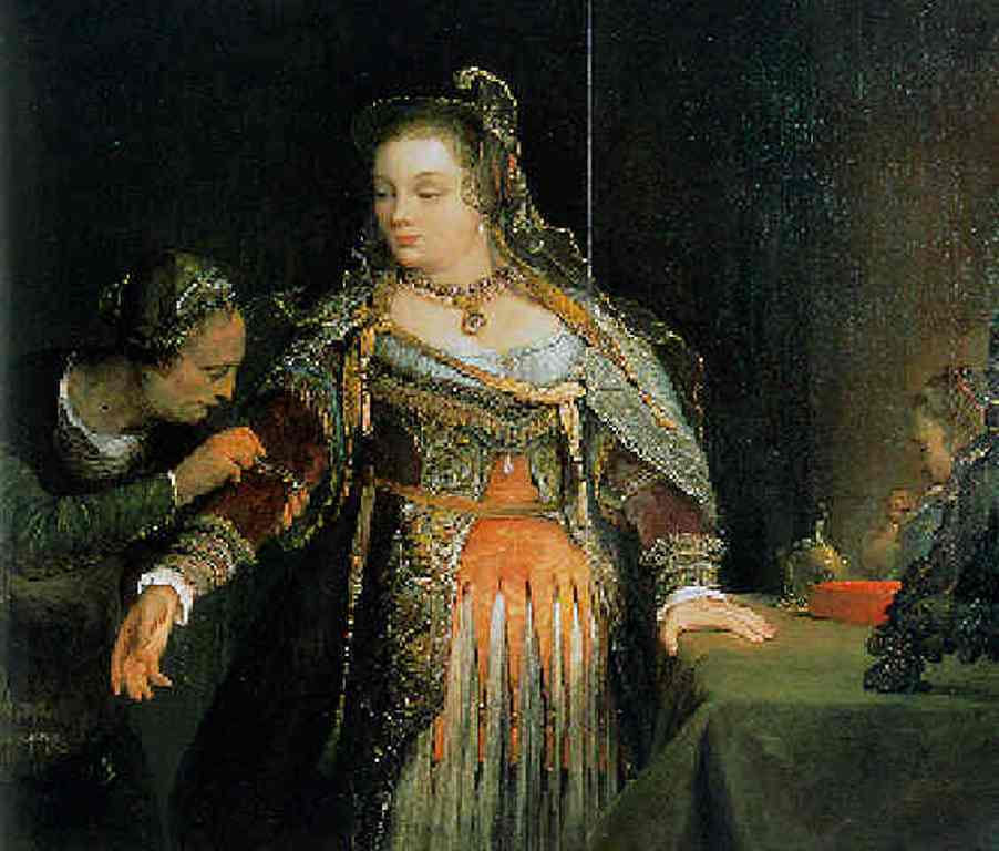 Gelder-Esther-at-her-toilet