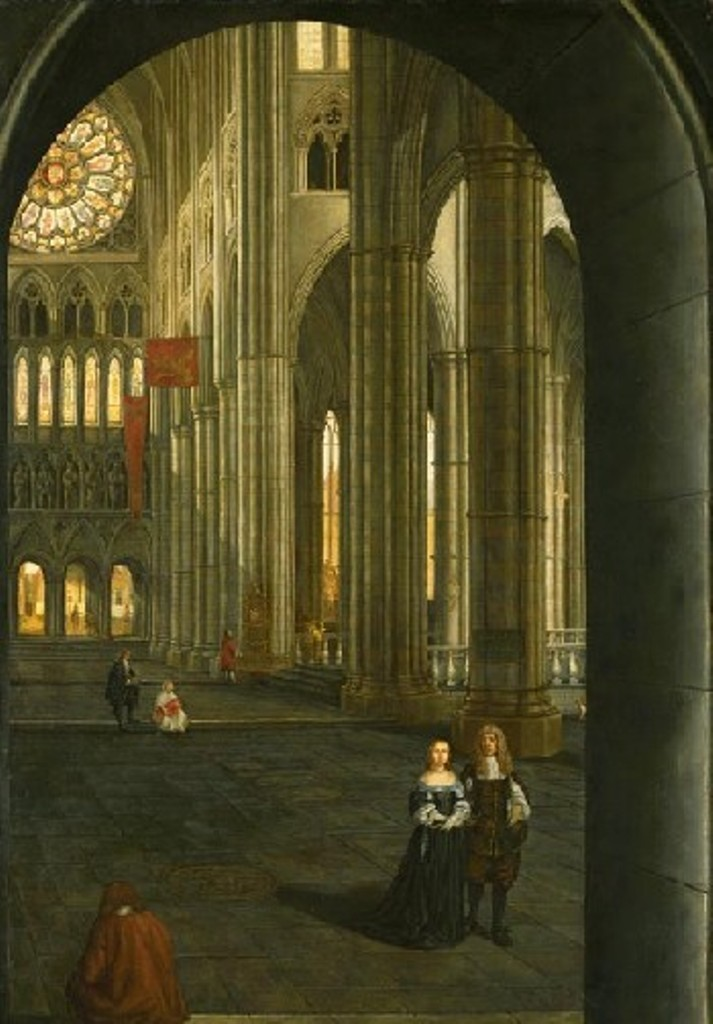 Hoogstraten-Inside-the-Westminster-Abbey