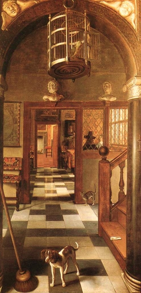 Hoogstraten-View-of-a-Corridor