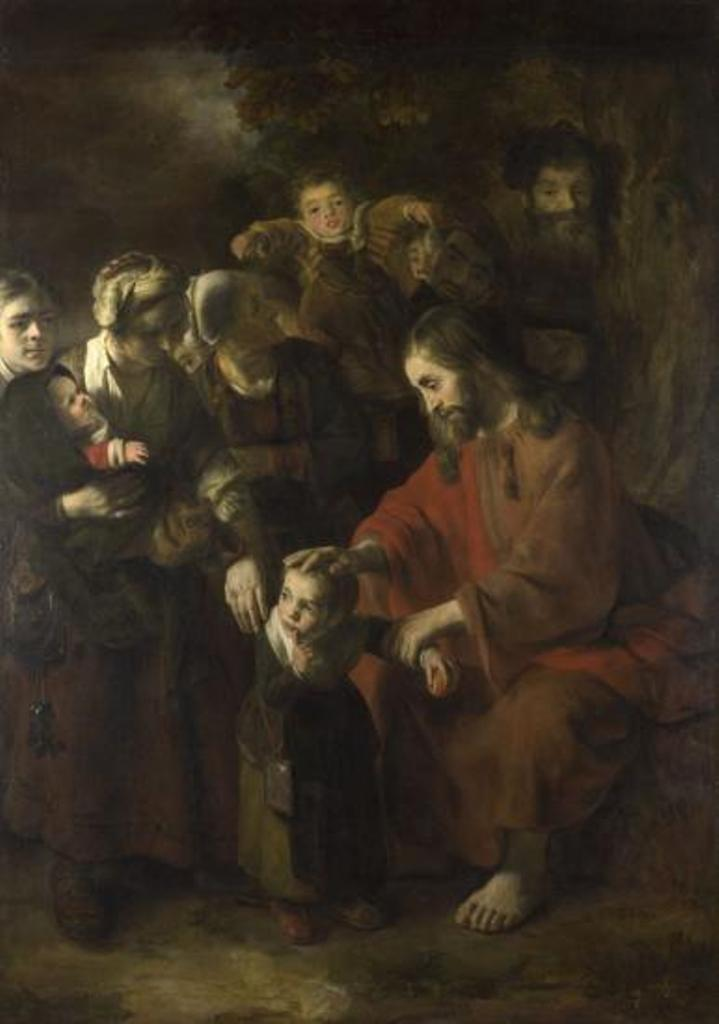 Maes-Christ-Blessing-the-Children