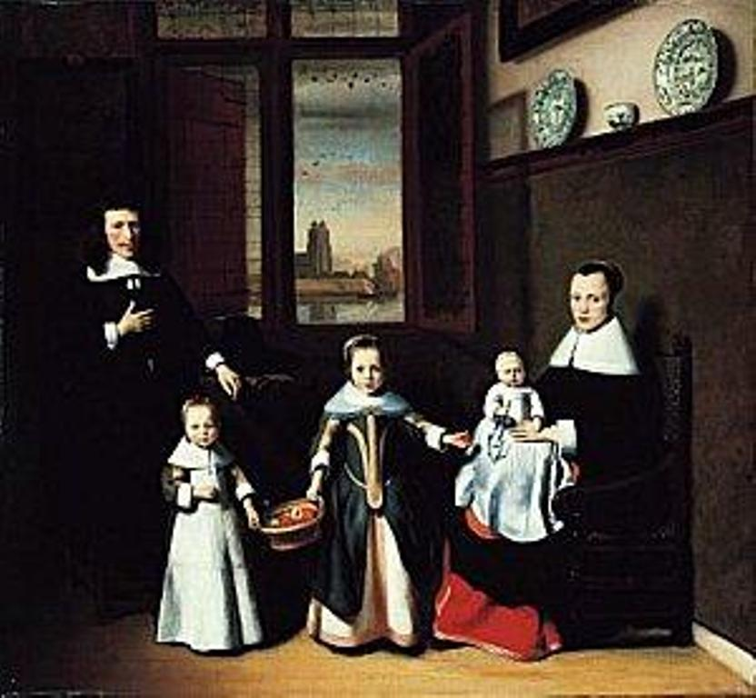 Maes-Interior-of-a-Dordrecht-family