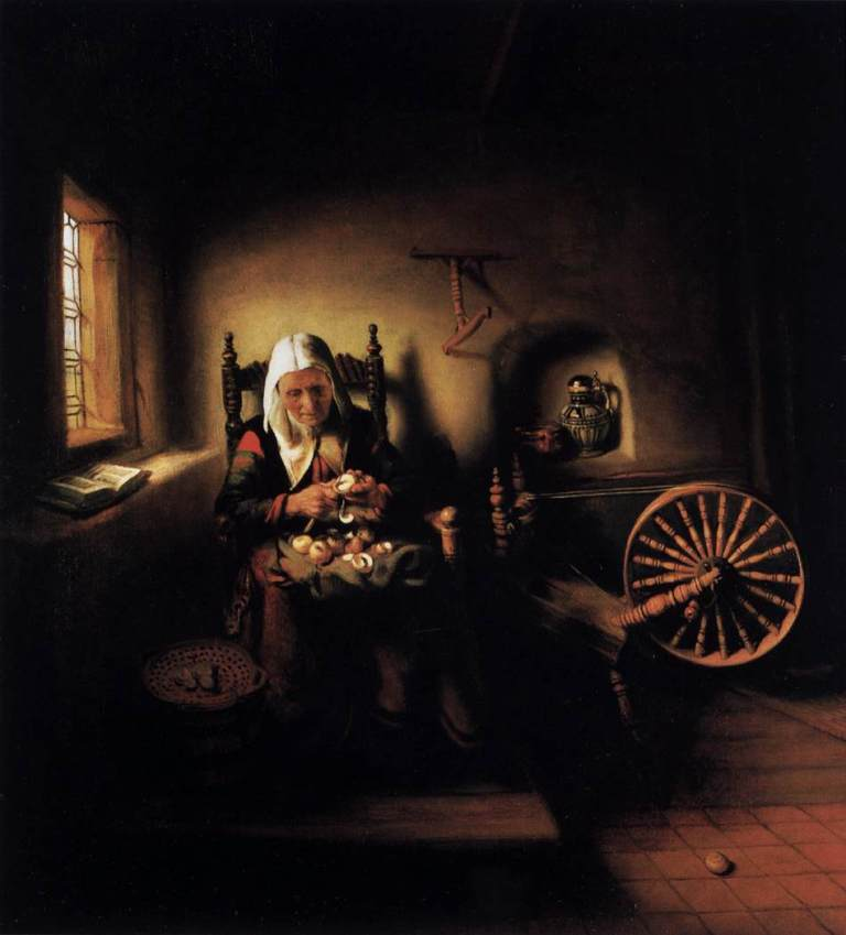 Maes-Old-Woman-Peeling-Apples