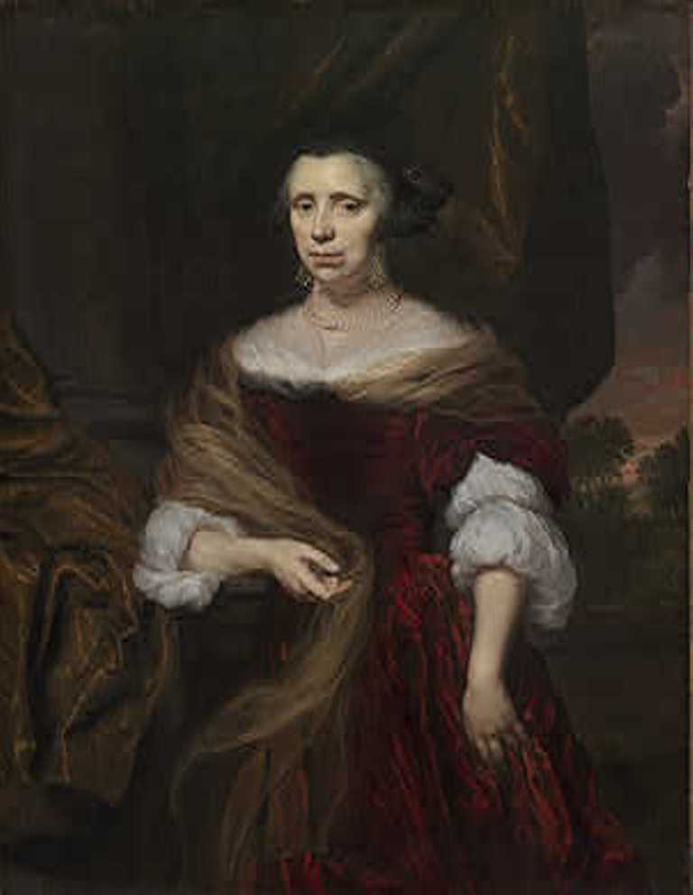 Maes-Portrait-of-a-Lady-1676