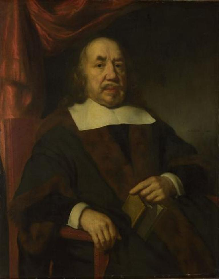 Maes-Portrait-of-an-Elderly-Man-in-a-Black-Robe