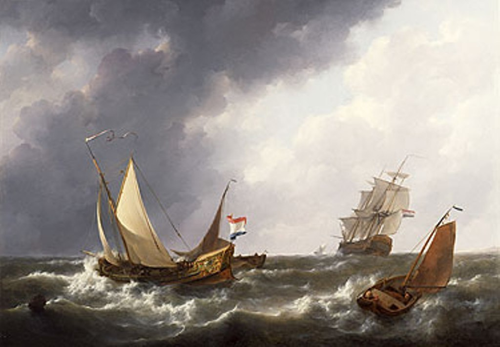 Schotel-Johannes-A-yacht-a-man-of-war-and-other-shipping