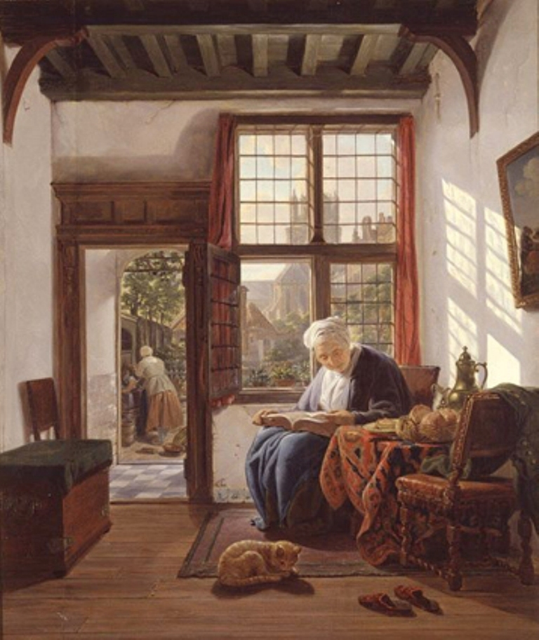 Strij-Abraham-Reading-woman-at-the-window