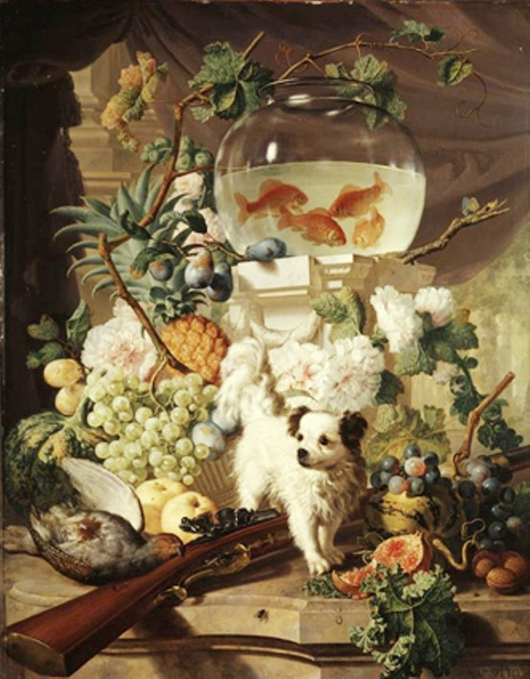 Strij-Abraham-Stillefe-with-flowers-fruits-and-a-fishcan