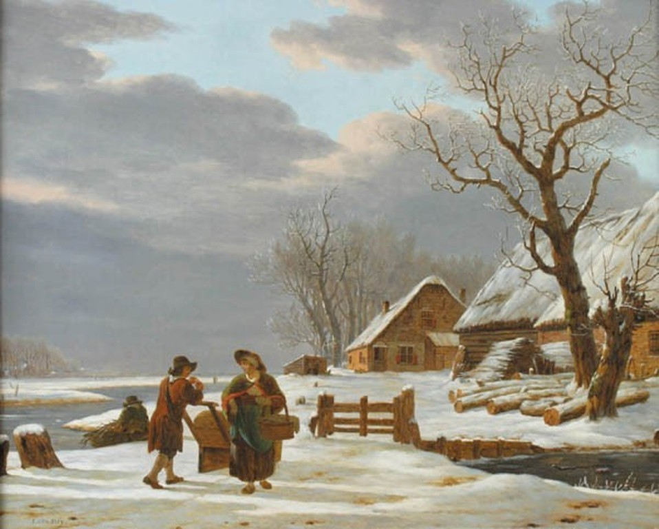 Strij-Jacob-Hollands-winterlandschap