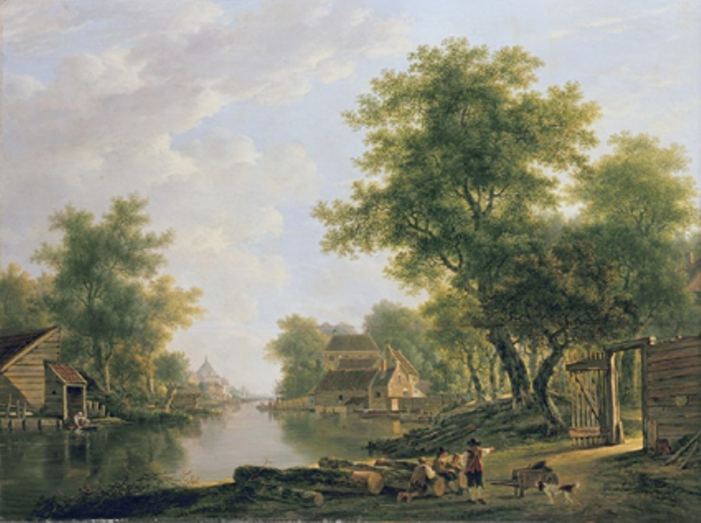 Strij-Jacob-Landscape-with-river-near-dordrecht