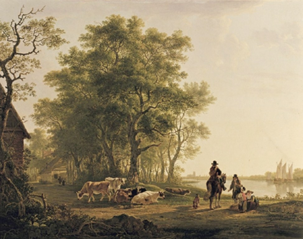 Strij-Jacob-Landscape-with-trees-near-dordrecht