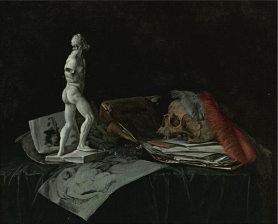 Susenier-Vanitas-stillife-with-a-skull