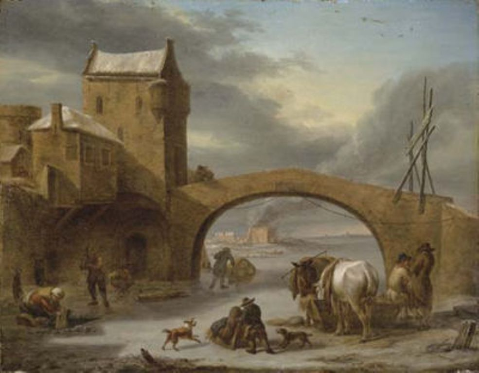 Vermeulen-Cornelis-The-distribution-of-hay-in-winter