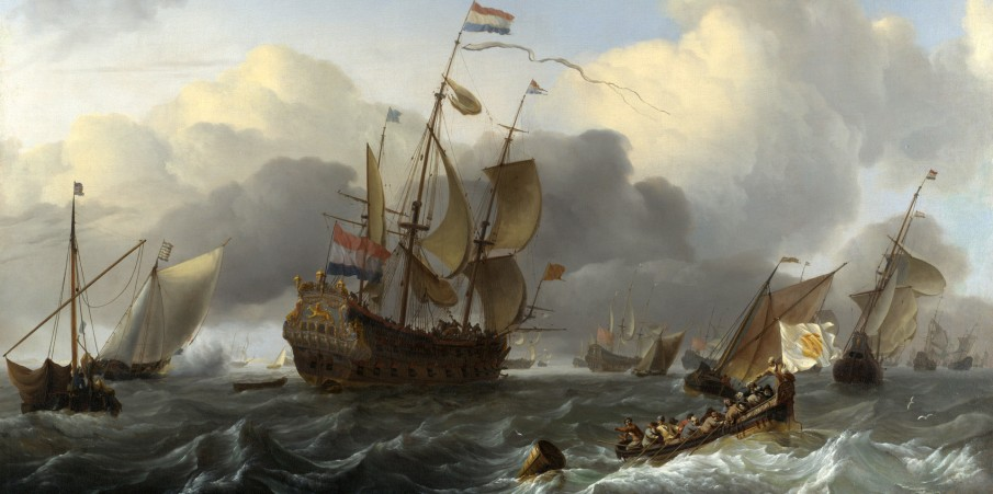 History of Holland from the 10th to the 19th century