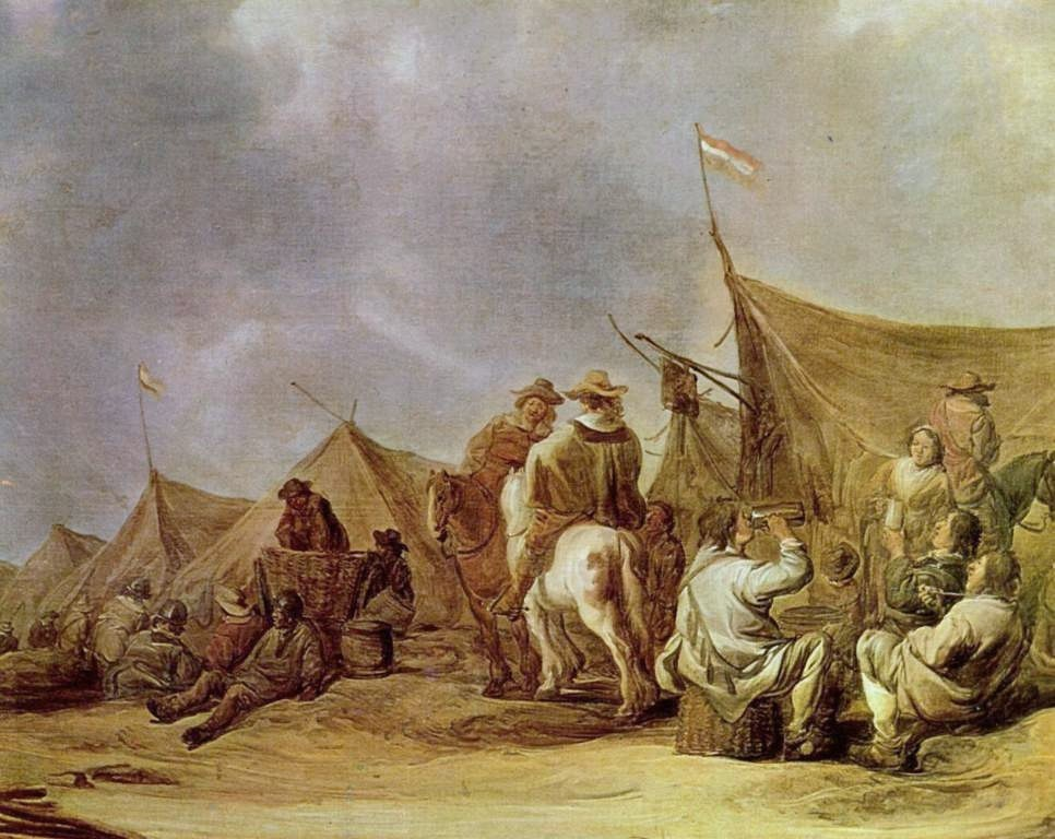 Cuyp-Albert-Rest-in-the-camp