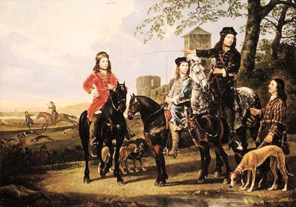 Cuyp-Albert-Starting-for-the-Hunt