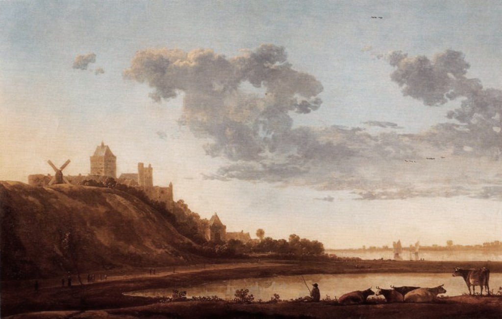 Cuyp-Albert-Valkhof-at-Nijmegen-from-the-East