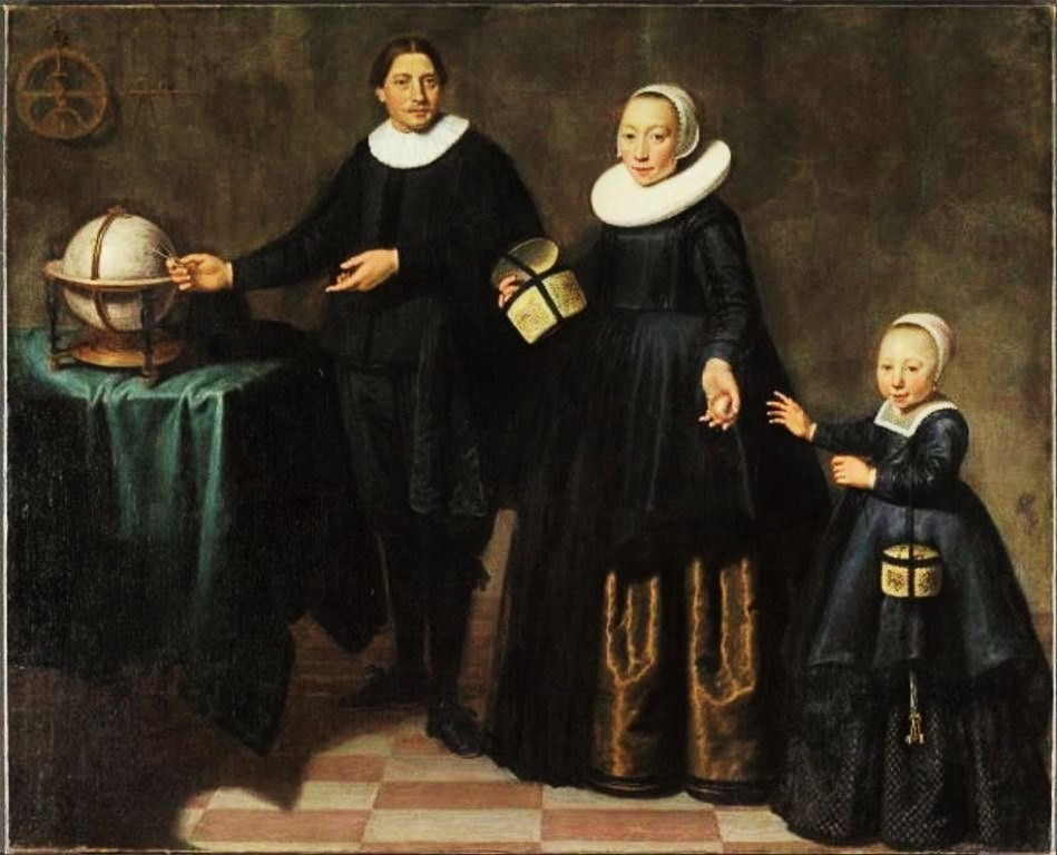 Cuyp-Jacob-Portrait-of-Abel-Tasman-his-wife-and-daughter