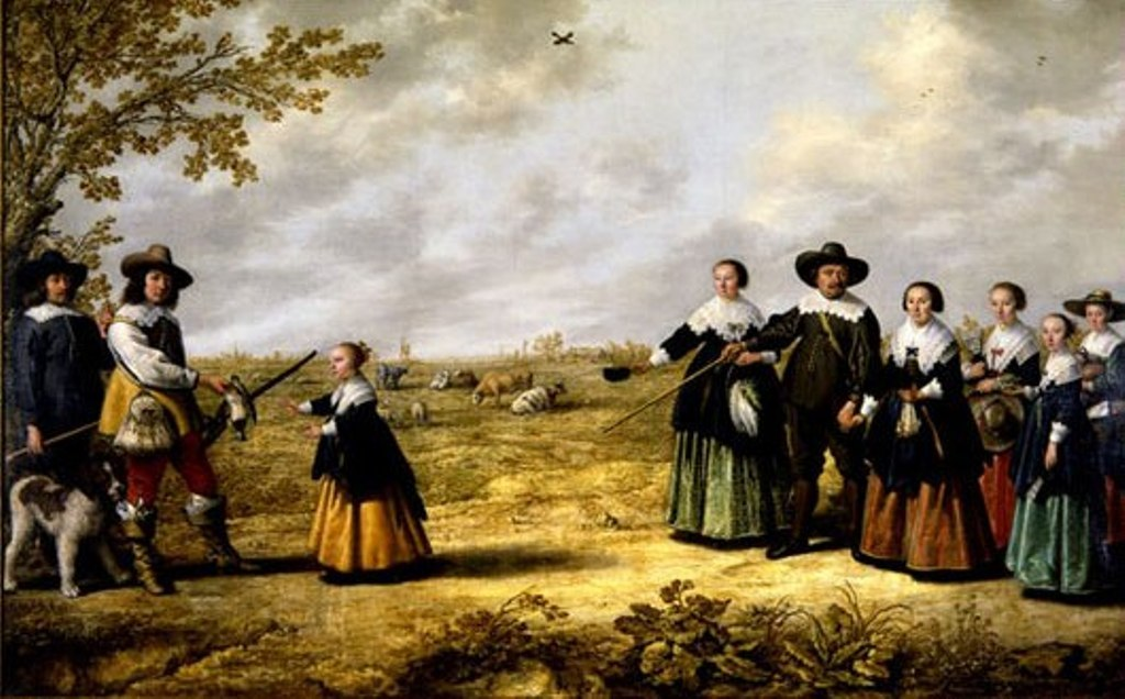 Cuyp-Jacob-Portrait-of-a-Family-in-Landscape