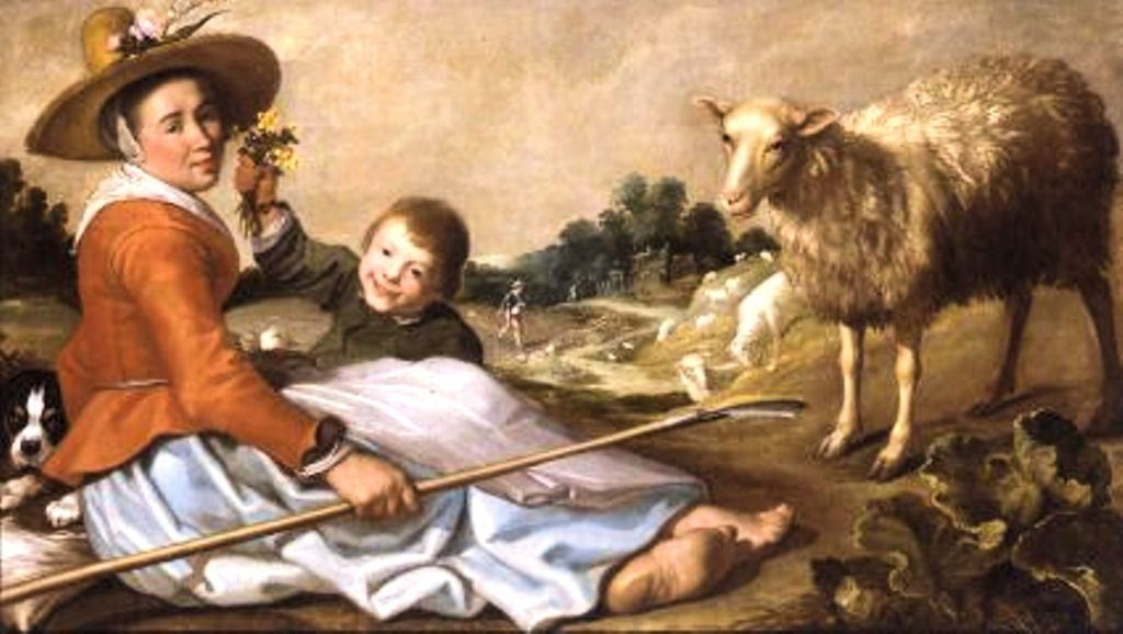 Cuyp-Jacob-Shepperdess-with-child