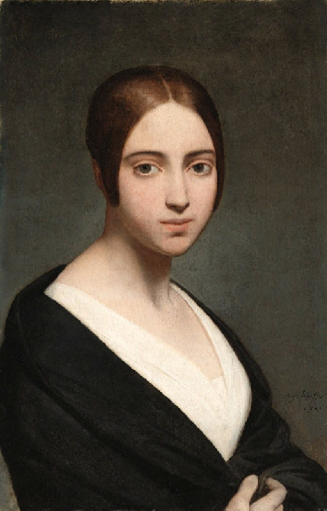 Scheffer-Portrait-of-a-young-woman