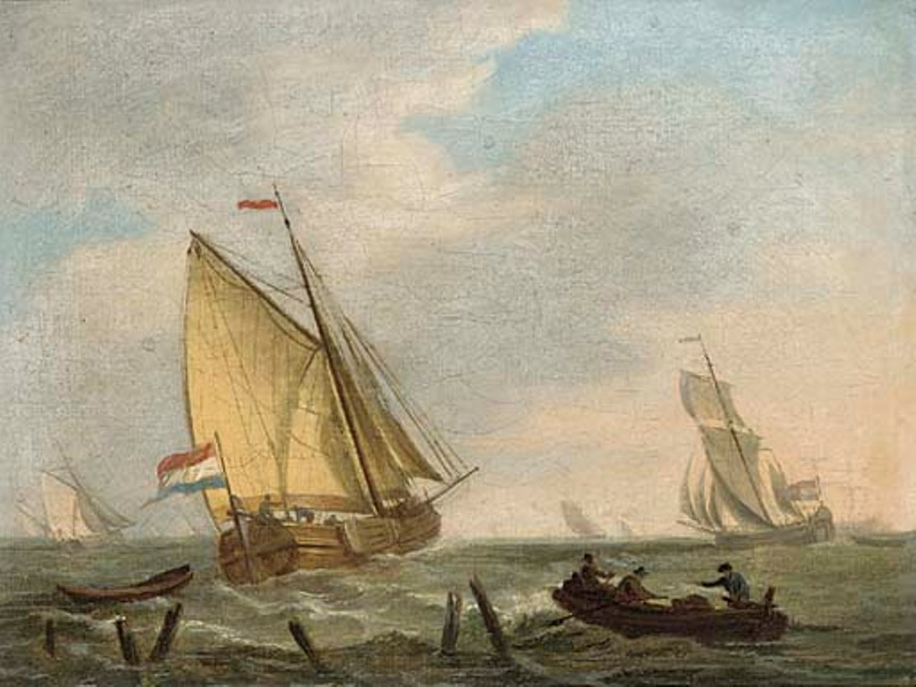 Schotel-Johannes-Dutch-barge-setting-out-to-sea