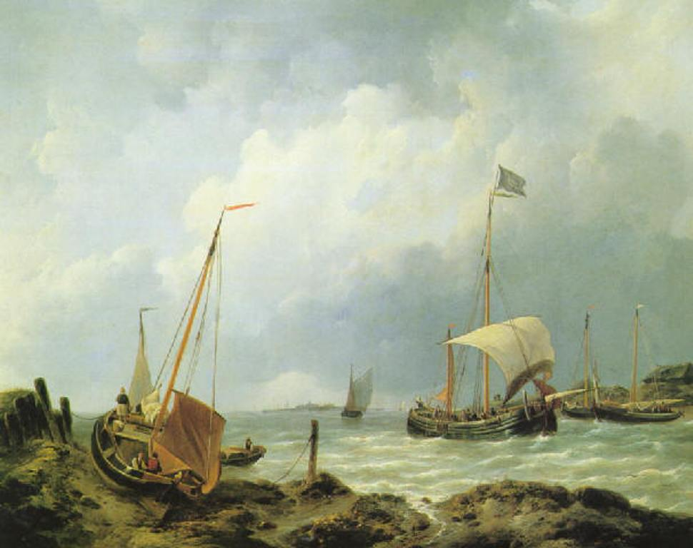 Schotel-Johannes-Fishing-boats-from-the-shore